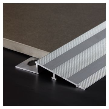 Dural 11mm Wide Alum Tile In Ramp NA Lgth