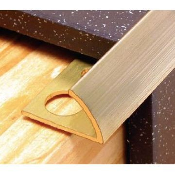 12mm Brass Round Edge Trim Natural Lgth