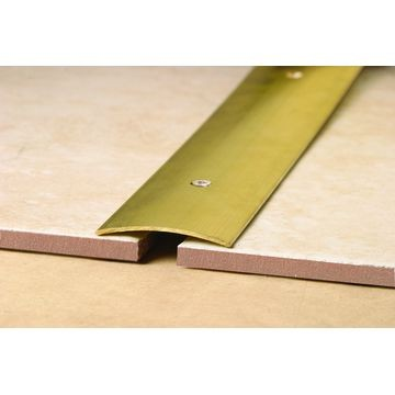 38mm Brass Cover Strip Natural Lgth