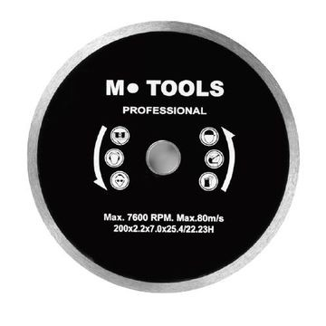 MTools 180mm Diamond Blade Quality Cont Unit