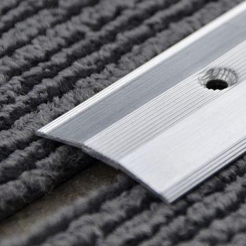 38mm Alum Tile Carp Cv UD (2.5m)Nt Ano Lgth