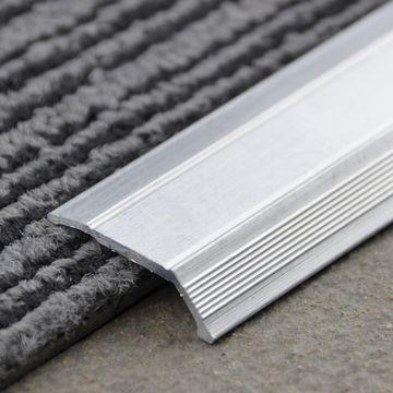 29mm Alum Tile Carpet Cover (1m)Nat Lgth