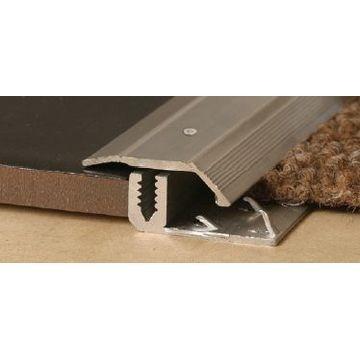 29mm Alum Tile Carp Cv (2.5m)Crp Bz Lgth
