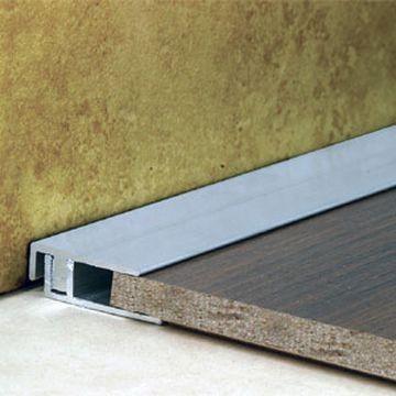 25mm Alum Cover Square End Black 2.7m