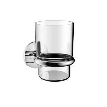 Aqua Zinc Tumbler and Holder Tan Ea