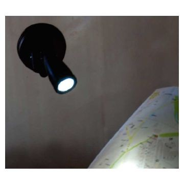 Suction LED Light with Suction Pad Ea