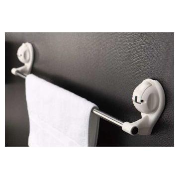 Suction Samurai 60cm Towel Rail White Ea