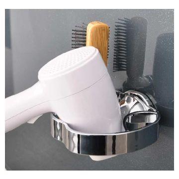 Suction S7 Hair Dry Hold Plastic Chrome Ea