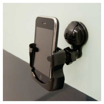 Suction Cell/Remote Holder Black Ea