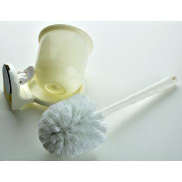 Suction Diana Toilet Brush Set White Ea