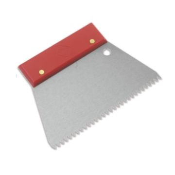 Rubi Jagged Spatula 6x6 Steel Unit