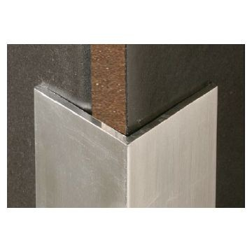 MTRIM 15 X15mm Alum Corner Prot Natural 2.5m