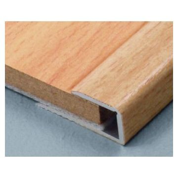 Dural 14mm Alum Adapt Profile Maple 2.7m