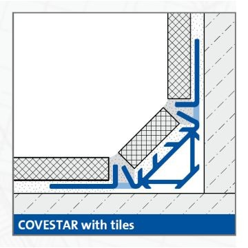 Dural Covestar Internal Trim 2.44m Lgth