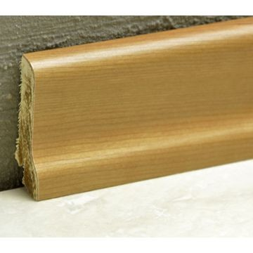 Pedross 60mm Wood Veneered Skirting Cherry Lgth