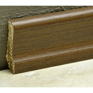 Pedross 60mm Wood Veneered Skirting Wenge Lgth