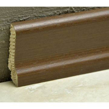 Pedross 60mm Wood Veneered Skirting Ipe Lgth