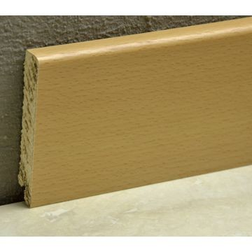 Pedross 95mm Wood Veneered Skirting Beech Lgth