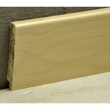 Pedross 95mm Wood Veneered Skirting Birch Lgth
