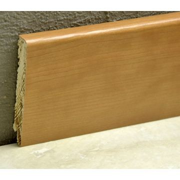 Pedross 95mm Wood Veneered Skirting Cherry Lgth