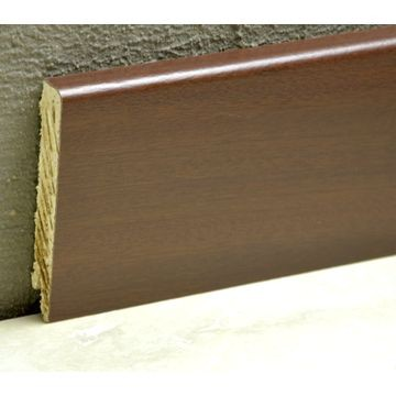 Pedross 95mm Wood Veneered Skirting Jarrah Lgth