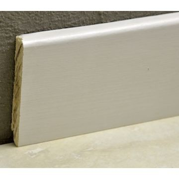 Pedross 95mm Wood Veneered Skirting White Ash Lgth