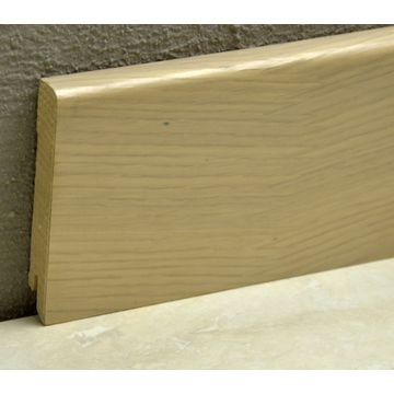 Pedross 95mm Wood Veneered Skirting White Oak Lgth