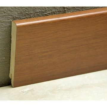Pedross 95mm Wood Veneered Skirting Moabi Lgth