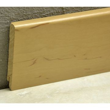 Pedross 95mm Wood Veneered Skirting Alder Lgth