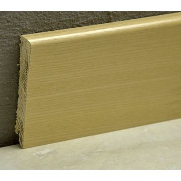 Pedross 95mm Wood Veneered Skirting Ash Lgth