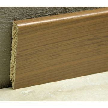 Pedross 95mm Wood Veneered Skirting Walnut Lgth