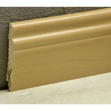 Pedross 95mm Classic Wood Veneered Skirting Beech Lgth