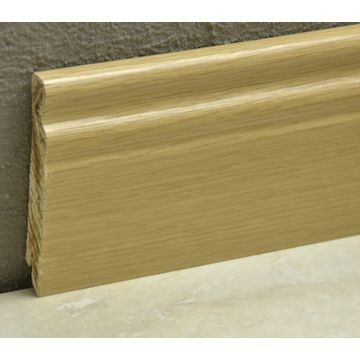 Pedross 95mm Classic Wood Veneered Skirting Oak Lgth