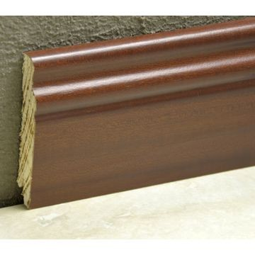 Pedross 95mm Classic Wood Veneered Skirting Jarrah Lgth