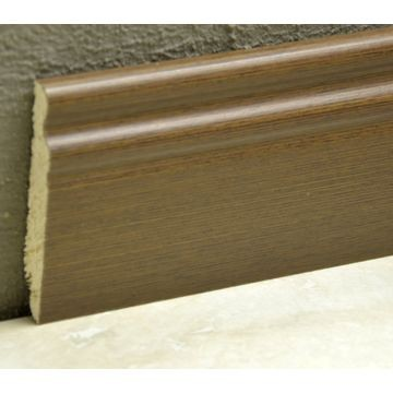 Pedross 95mm Classic Wood Veneered Skirting Wenge Lgth
