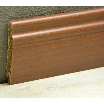 Pedross 95mm Classic Wood Veneered Skirting Moabi Lgth