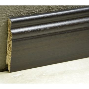 Pedross 95mm Classic Wood Veneered Skirting Makassar Lgth