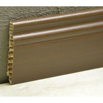 Pedross 95mm Classic Wood Veneered Skirting Ipe Lgth