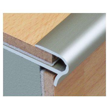 Dural 14mm Aluminium Step Floor Silver Lgth