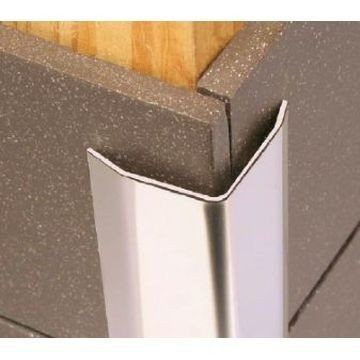 50mm Stain Steel Cnr Protector Brushed Lgth