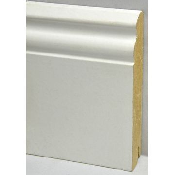 MFloors 120mm Skirting White