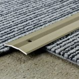 Transition Cover 38mm wide.  Carpet Bronze anodized finish. 1m length