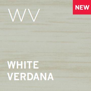 Expansion Cover 38mm wide. White Veranda foil wrapped finish. 90cm length